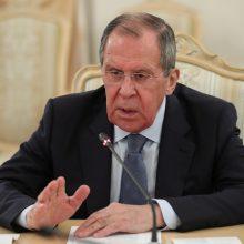 """Rusija prognozuoja, kad derybos su JAV dėl """"New START"""" sutarties žlugs"""