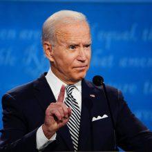 J. Bidenas sako besitikintis siekti antros kadencijos JAV prezidento poste