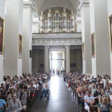 Vilniaus arkikatedroje vėl skambės vargonų muzikos koncertai