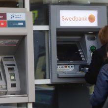 """Savaitgalį galimi """"Swedbank"""" trikdžiai"""