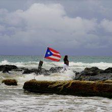 "Puerto Riką aplenkęs uraganas ""Dorian"" juda Floridos link"