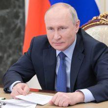 Rusijoje įvyks V. Putino partijos kongresas, skirtas pasirengimui artėjantiems rinkimams