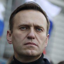 """Rusijos teismas atidėjo A. Navalno """"ekstremizmo"""" bylos nagrinėjimo pradžią"""