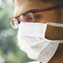 Indijoje per parą patvirtinta beveik 10 tūkst. naujų koronaviruso atvejų