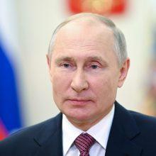 Po V. Putino straipsnio apie Ukrainą Kremlius susilaiko nuo komentarų
