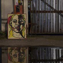 Virtualioje galerijoje – tapytojos A. Bričkutės savęs rekonstrukcija