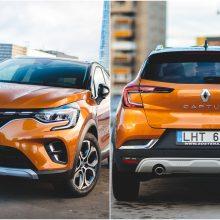 """Naujasis Europos bestseleris """"Renault Captur"""" jau pristatytas Lietuvoje"""