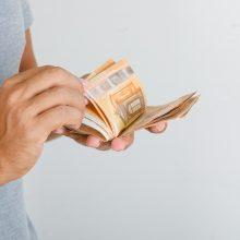 VMI paramos gavėjams iki lapkričio 15 d. perves 21,1 mln. eurų