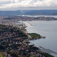 Jūrinė samprata Klaipėdoje ir Trieste