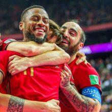 Europos čempionai portugalai nukarūnavo Argentiną