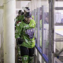 """""""Kaunas Hockey"""" ledo ritulininkai vėl pralaimėjo """"Energijai"""""""