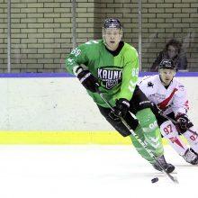 """""""Kaunas Hockey"""" nusileido """"Energijos"""" ledo ritulininkams"""