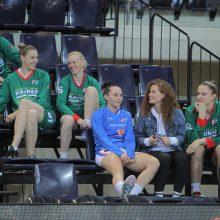 """""""Kibirkšties"""" krepšininkės iškovojo moterų lygos bronzą"""