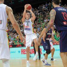 Ką parodė dvejos rungtynės su Serbija?