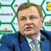 Oficialu: Lietuvos krepšinio federacijai vadovaus V. Gedvilas