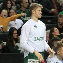 """Su vėjeliu: """"Žalgiris"""" triuškinančia pergale pradėjo LKL pirmenybes"""