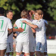 Visi trys A lygos klubai peršoko LFF taurės aštuntfinalį