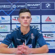 """""""Vyčio"""" salės futbolininkai pralaimėjo Rusijos čempionams"""