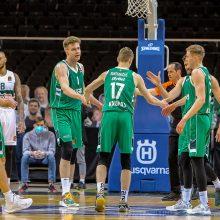 """""""Žalgiris"""" Eurolygos sezoną baigė pergale prieš """"Panathinaikos"""""""
