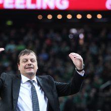 Š. Jasikevičius: važiuojame su idėja, kad galime įveikti bet kurią komandą