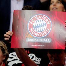 """""""Žalgiris"""" sausakimšoje arenoje parklupdė """"Bayern"""" krepšininkus"""