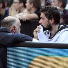 """""""Žalgiris"""" turėjo pripažinti Eurolygos čempionų pranašumą"""