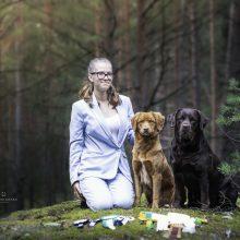 Šunų vedlės svajonė: baigusi mokyklą nori įkurti savo veislyną