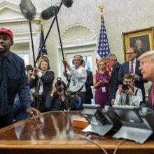 D. Trumpas: K. Westo siekis tapti prezidentu labai įdomus