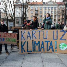 Vyriausybė pritarė klimato kaitos veiksmų planui