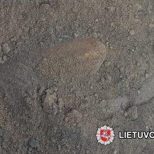 Vilniaus centre rasta pavojinga aviacinė bomba