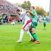 """Marijampolėje nugalėjo gynyba – """"Sūduva"""" pasiekė lygiąsias su """"Ferencvaros"""""""