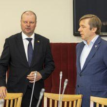 S. Skvernelis pranešė greičiausiai dalyvausiantis artėjančiuose Seimo rinkimuose