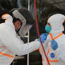 Lietuvoje koronavirusas patvirtintas daugiau nei 100 medikų