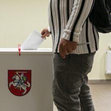 Ministras: rizika rinkimų apylinkėse užsikrėsti koronavirusu yra minimali