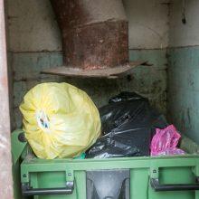 Kaunietė: nuo šiukšlių konteinerių – smarvė