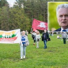 Apie Šeimos gynimo marše išplatintą G. Nausėdos sveikinimą: Prezidentas pagaliau atrado savo rinkėją