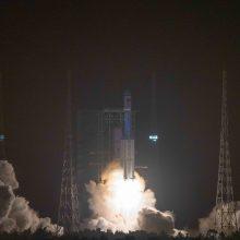 Kinija birželį  į savo naująją kosminę stotį pasiųs trijų žmonių įgulą