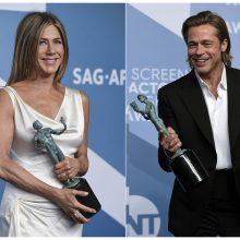 """Laukiant """"Oskarų"""": apdovanojimuose triumfavo """"Parazitas"""", B. Pittas ir J. Aniston"""