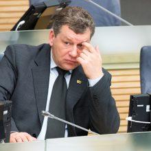 """Buvęs """"darbiečių"""" atstovas Seime sako, kad V. Gapšys nedarė jokio poveikio"""