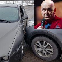 Avarija Kaune humoristui A. Orlauskui sužadino skaudžius prisiminimus