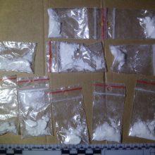 Trakų rajono gyventojas bus teisiamas dėl didelio kokaino kiekio laikymo