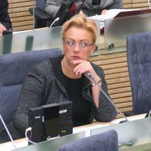 Žvalgybos raštas Seimo pirmininkui dėl I. Rozovos: visas tekstas