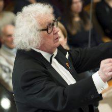 Dirigento J. Domarko 85-mečio proga – šalies vadovų sveikinimai