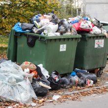 Atliekų vežimas Vilniuje kitąmet brangs beveik 40 proc.