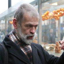 Skulptorius R. Sakalauskas mini 70-ties metų jubiliejų