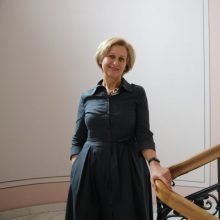 Rumšiškių liaudies buities muziejui vadovaus istorikė G. Šapranauskaitė