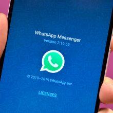 """""""WhatsApp"""" – saugumo spraga: telefonai galėjo būti užkrėsti per praleistą skambutį"""