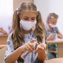 Koronavirusas nuo rugsėjo 1-osios registruotas 77-iose švietimo įstaigose
