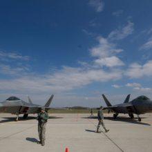 NATO naikintuvai per savaitę dukart kilo atpažinti Rusijos orlaivių