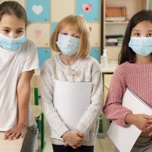 Koronavirusu serga 61 mokinys, saviizoliacijoje – daugiau nei 1,1 tūkst. žmonių
